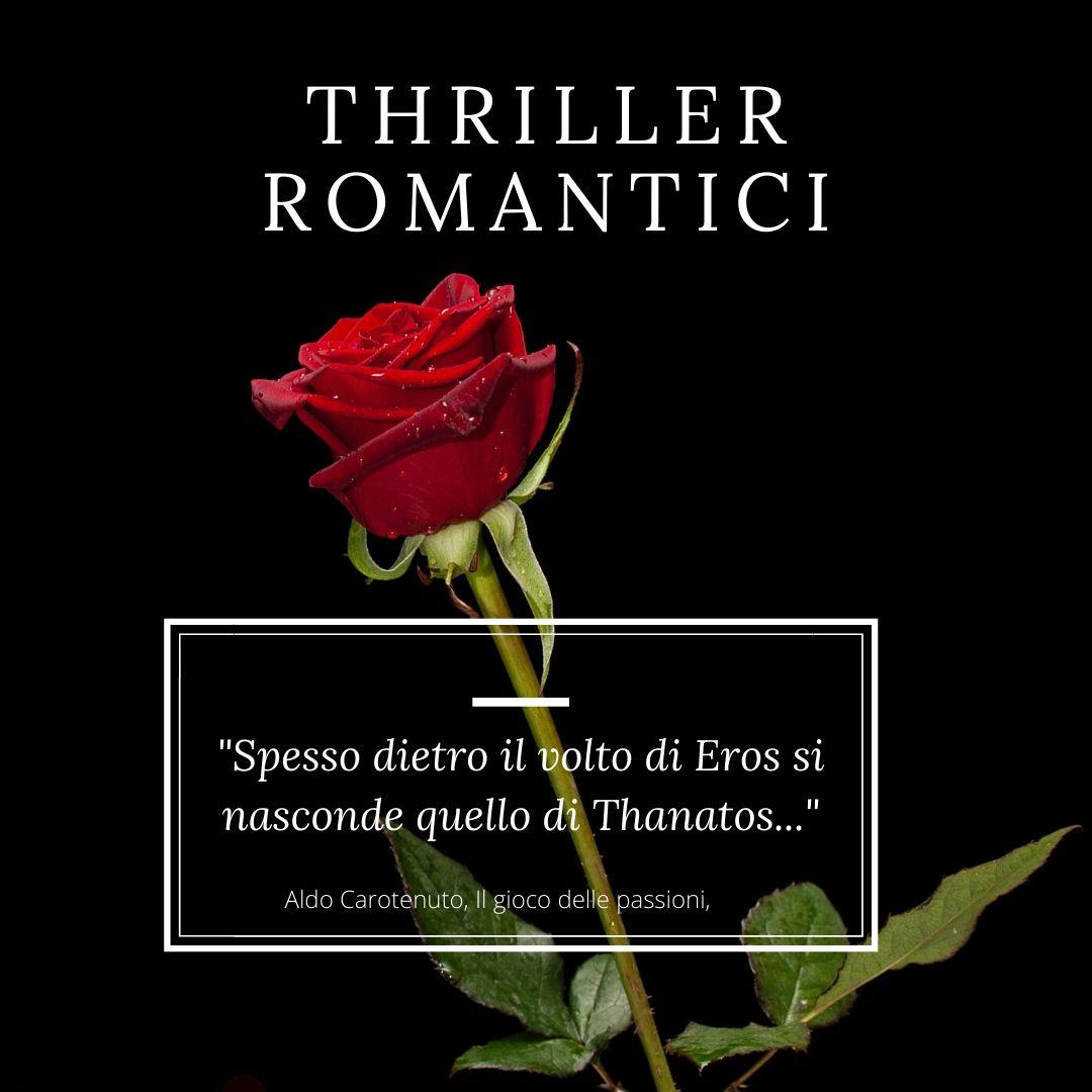 Recensioni libri thriller romantici